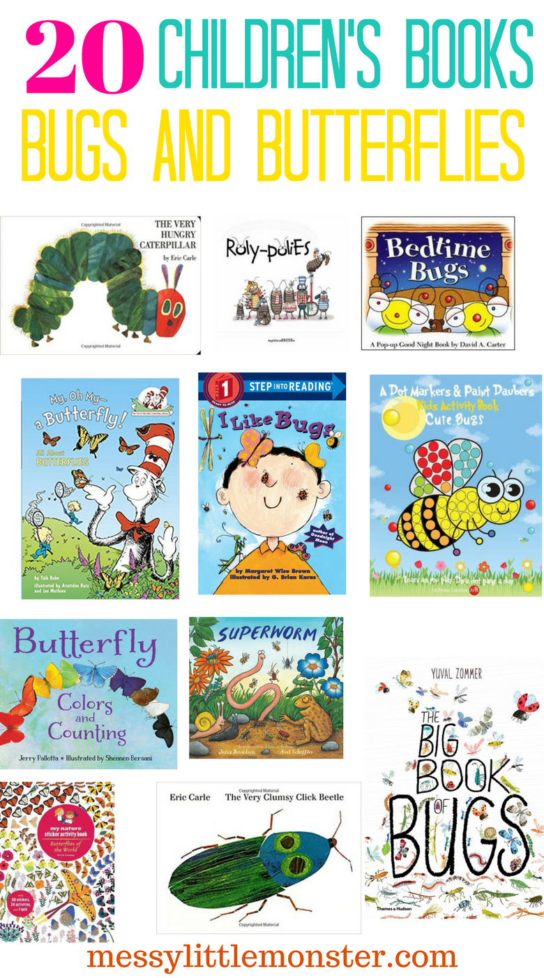 The Very Clumsy Click Beetle Coloring Pages Bug And Butterfly Book List Messy Little Monster