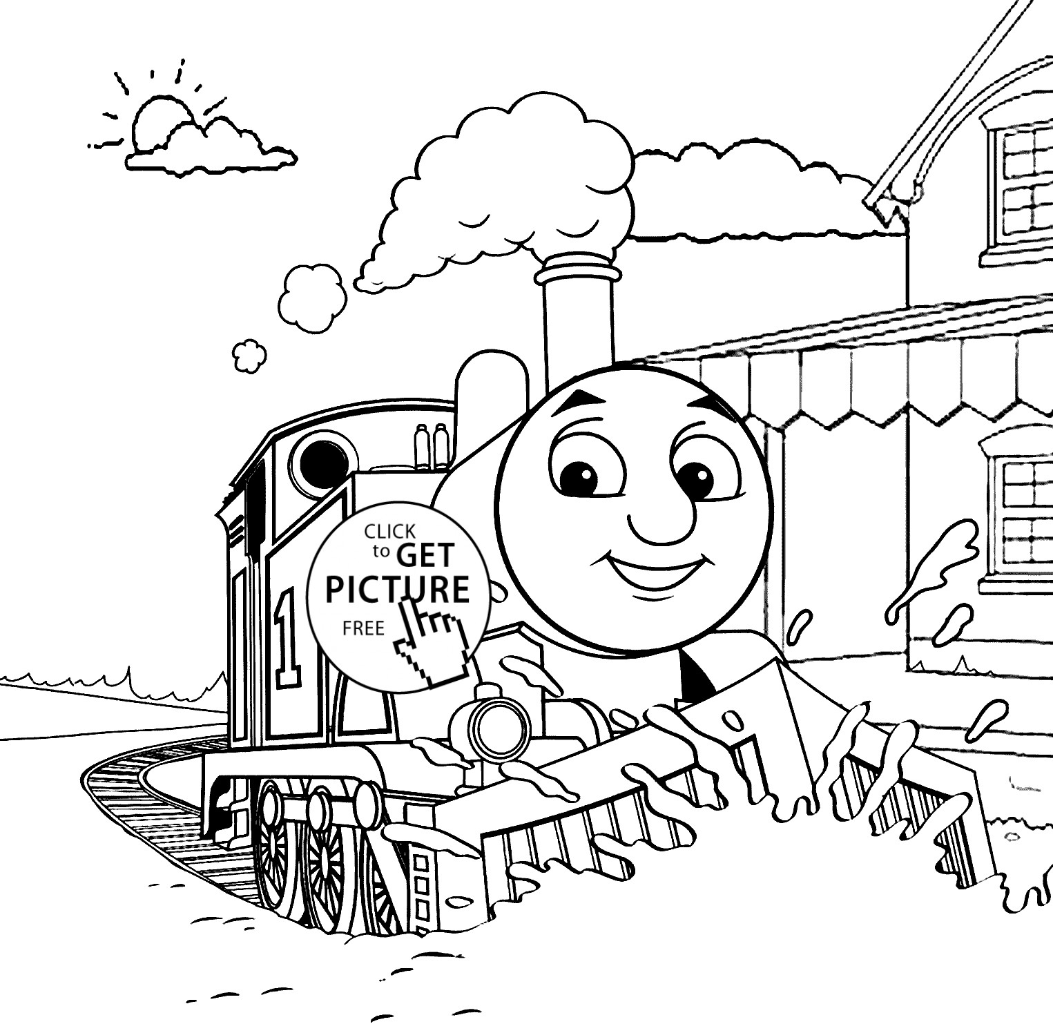 Thomas And Friends Coloring Pages Coloring Book Ideas Thomas And Friends Coloring Pages Save For