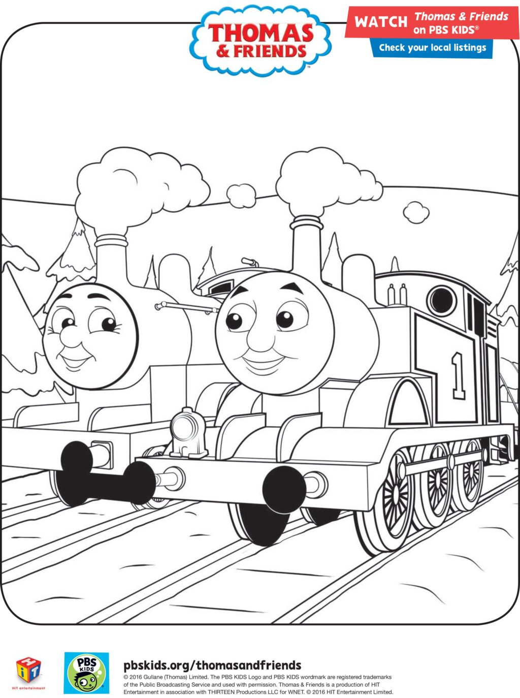 Thomas And Friends Coloring Pages Coloring Book World Stunning Thomas And Friendsng Pages Image