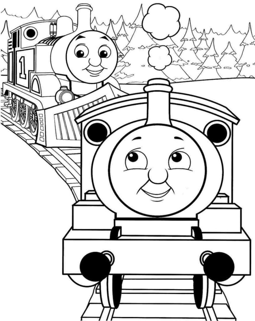 Thomas And Friends Coloring Pages Coloring Thomas And Friends Coloring Pages Best Of Simple The