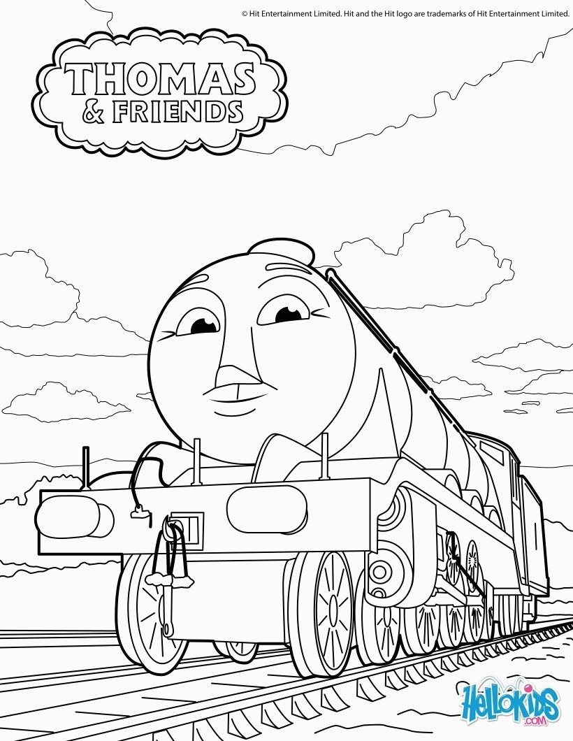 Thomas And Friends Coloring Pages Gordon Thomas Friends Coloring Pages Hellokids For Thomas And