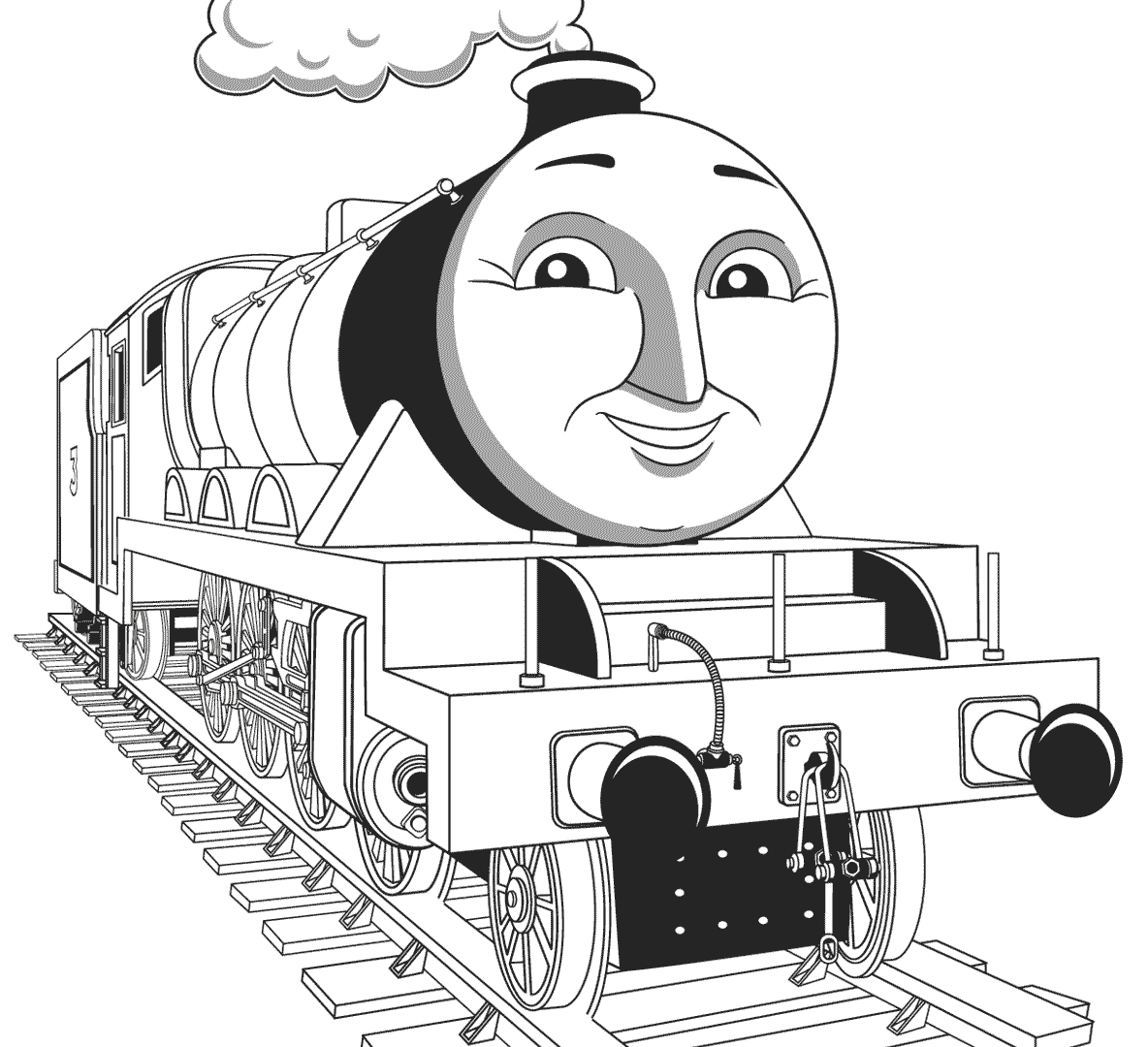 Thomas And Friends Coloring Pages Thomas And Friends Coloring Pages Edward To Train Alma Emily