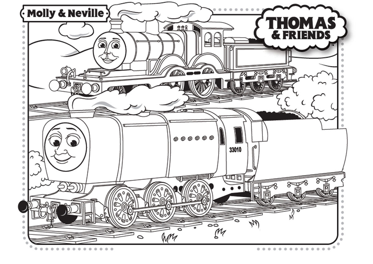 Thomas And Friends Coloring Pages Thomas And Friends Free To Color For Kids Thomas And Friends Kids