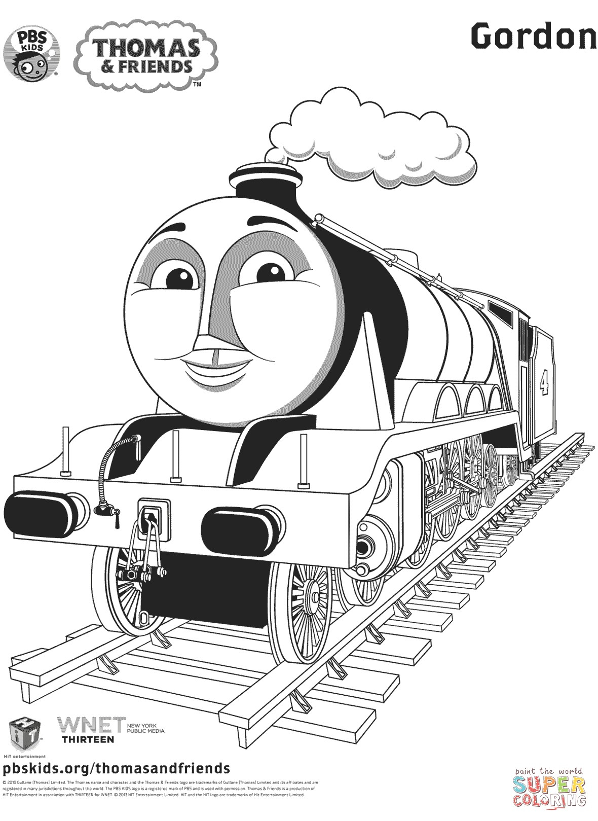 Thomas And Friends Coloring Pages Thomas Coloring Pages Telematik Institut