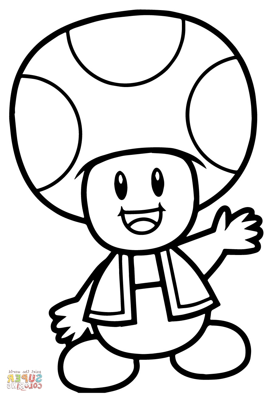 Toad And Toadette Coloring Pages Images Of Mario Luigi And Toad Coloring Pages Sabadaphnecottage