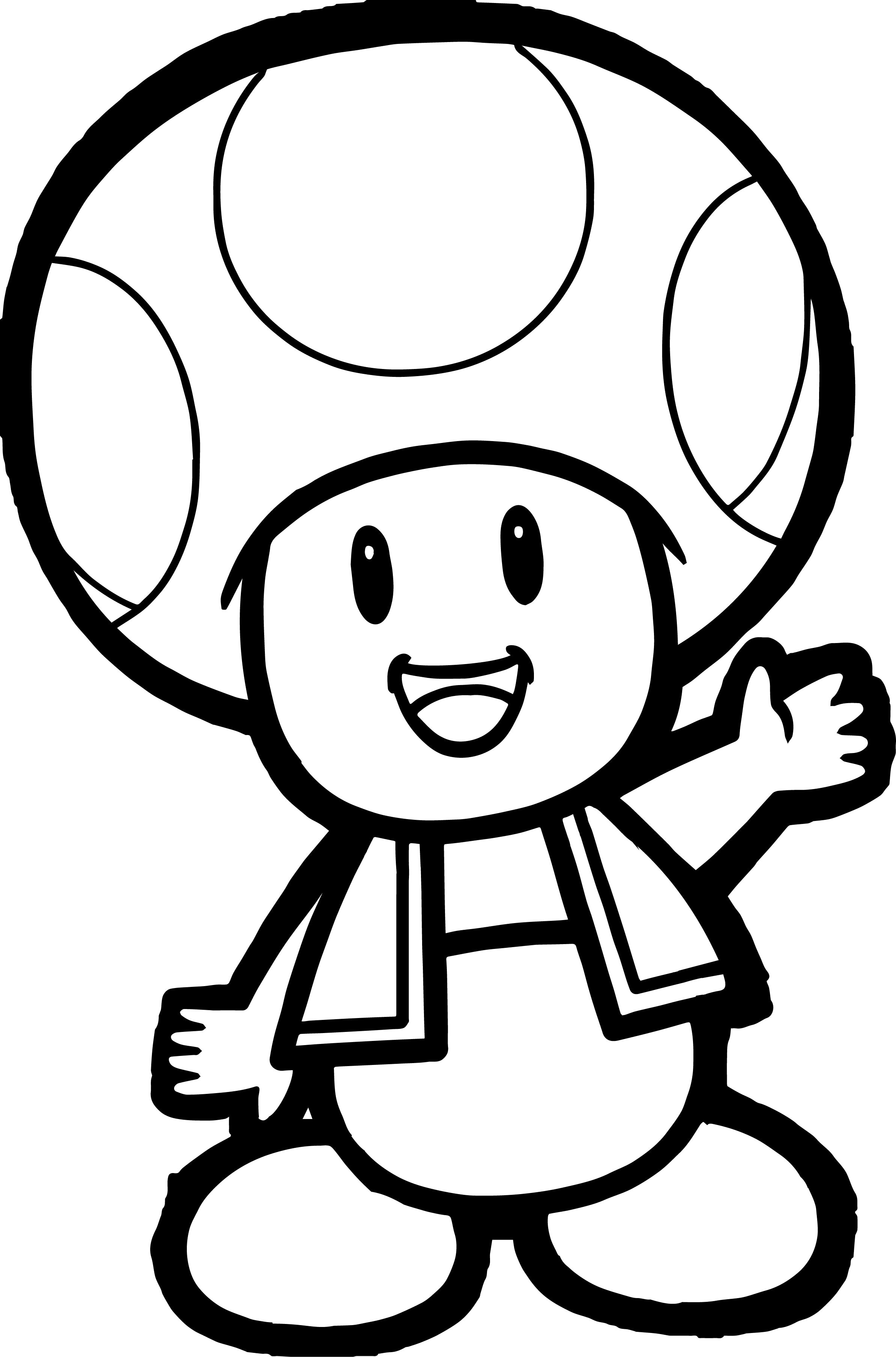 Toad And Toadette Coloring Pages Toad And Toadette Coloring Pages Mario My Localdea Of Telematik