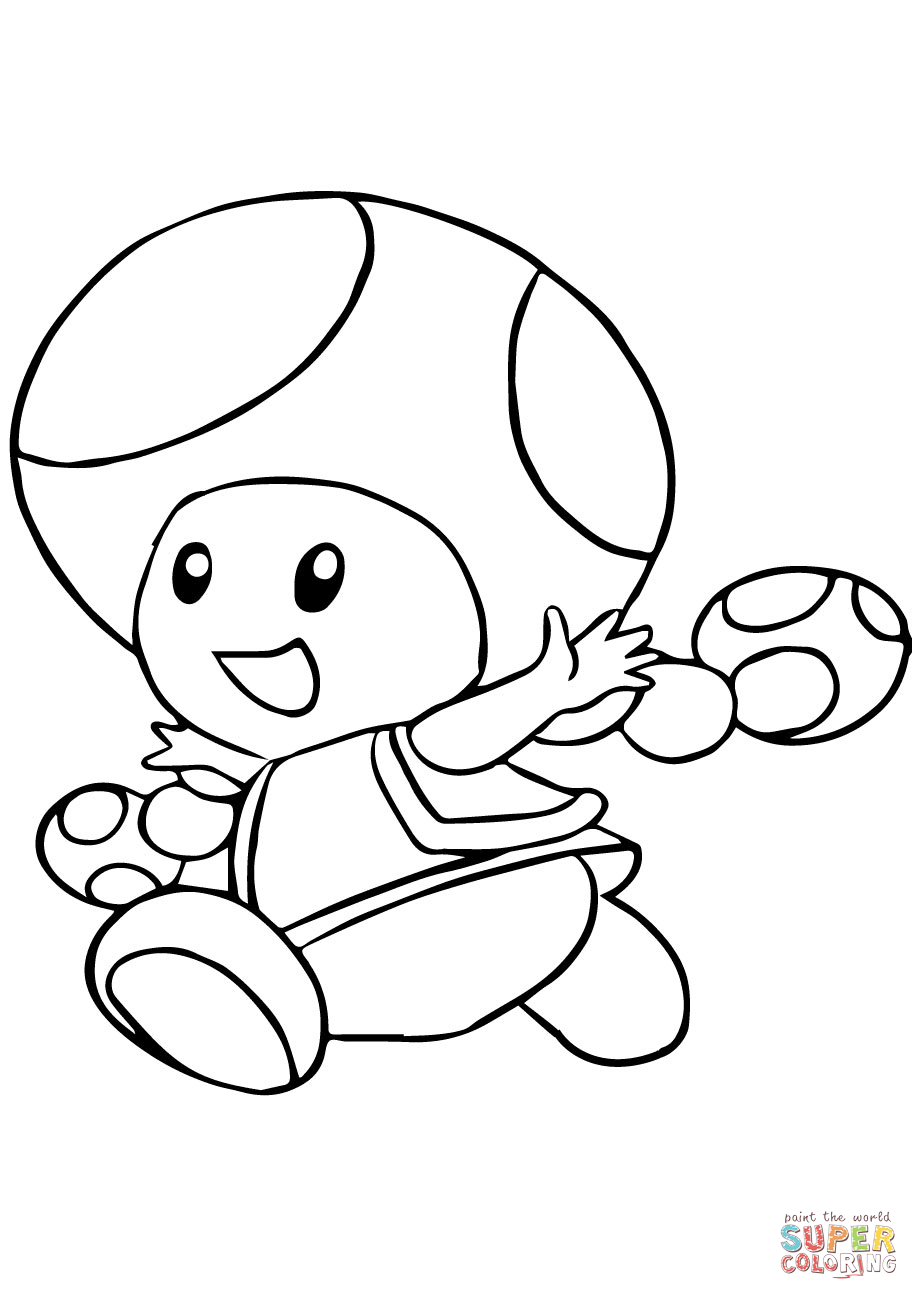 Toad And Toadette Coloring Pages Toadette Coloring Page Free Printable Coloring Pages