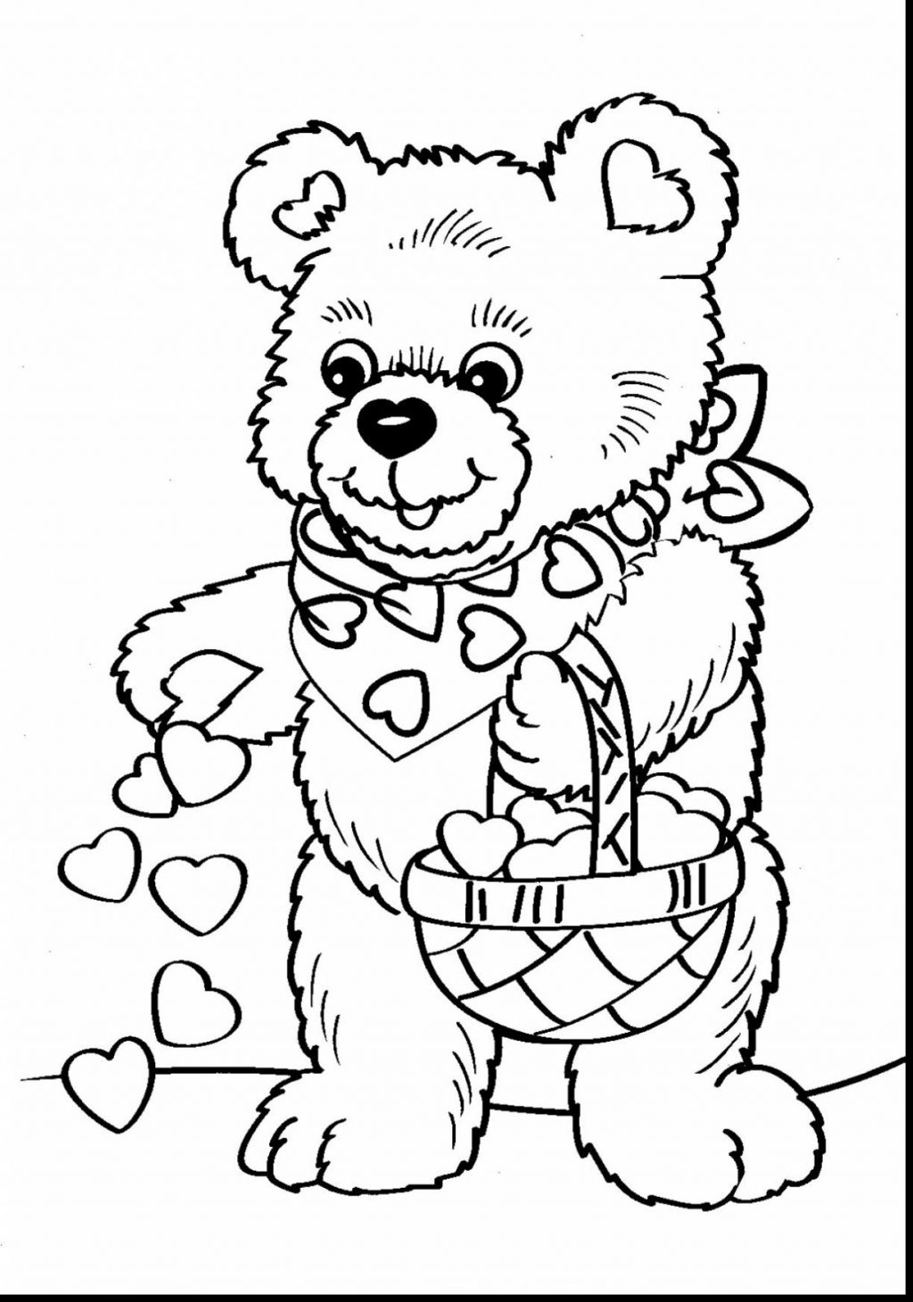 Valentine Coloring Book Pages Coloring 42 Free Valentine Coloring Pages