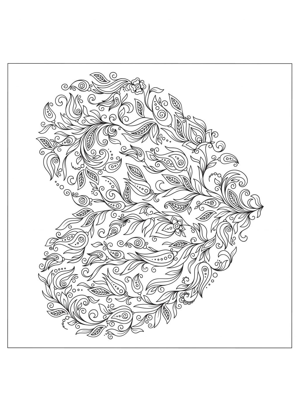 Valentine Coloring Book Pages Coloring Book World Printable Valentineloring Pages Free