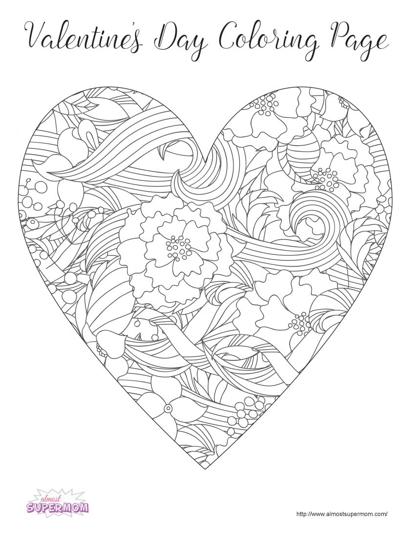 Valentine Coloring Book Pages Coloring Coloring Pages Of Valentines Day Staggering Ideas Free For