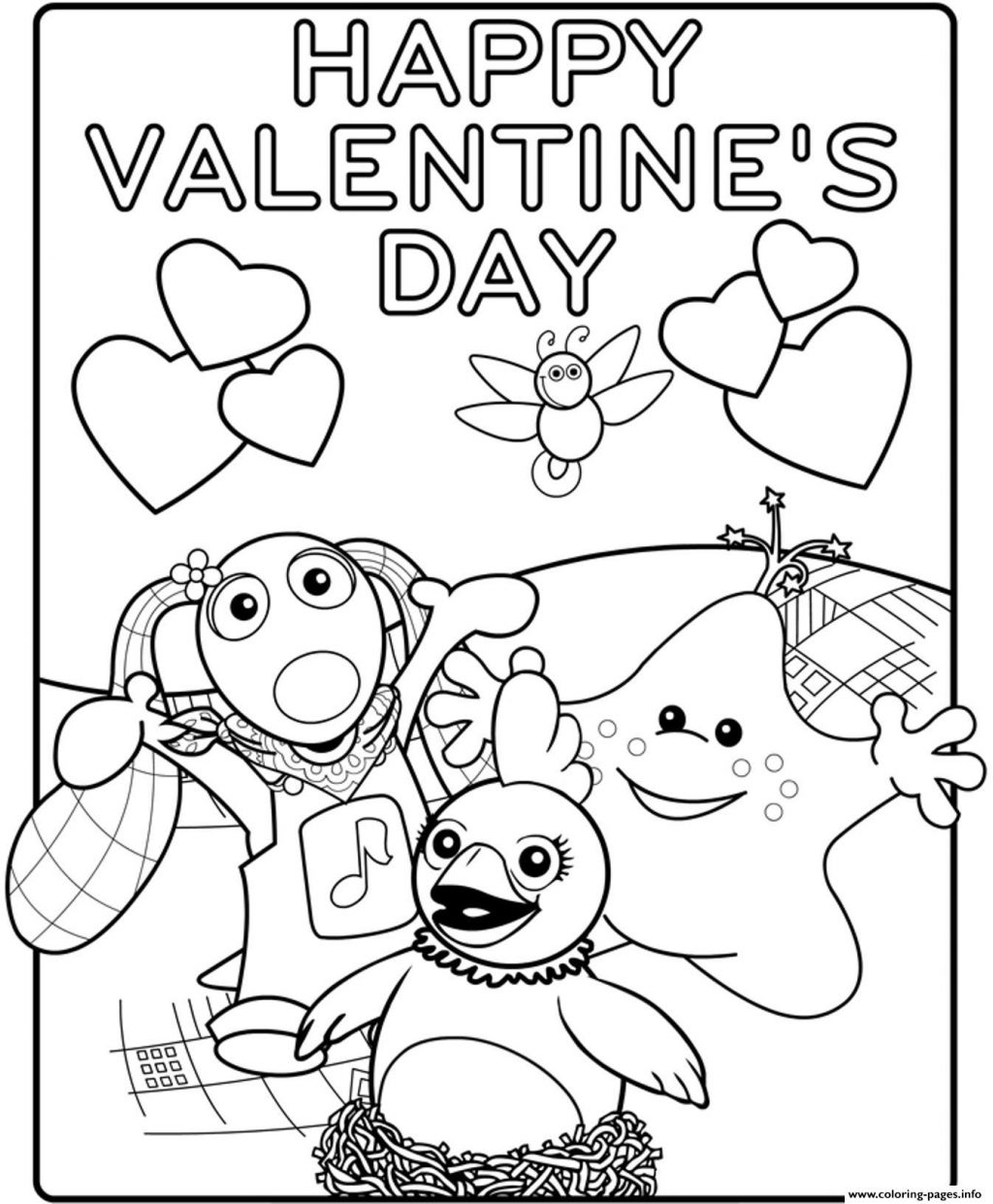 Valentine Coloring Book Pages Coloring Page 1461709648kids Happy Valentines Day S18b3a Coloring