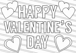 Valentines Day Coloring Page 50 Valentine Day Coloring Pages For Kids Free Coloring Pages 2019
