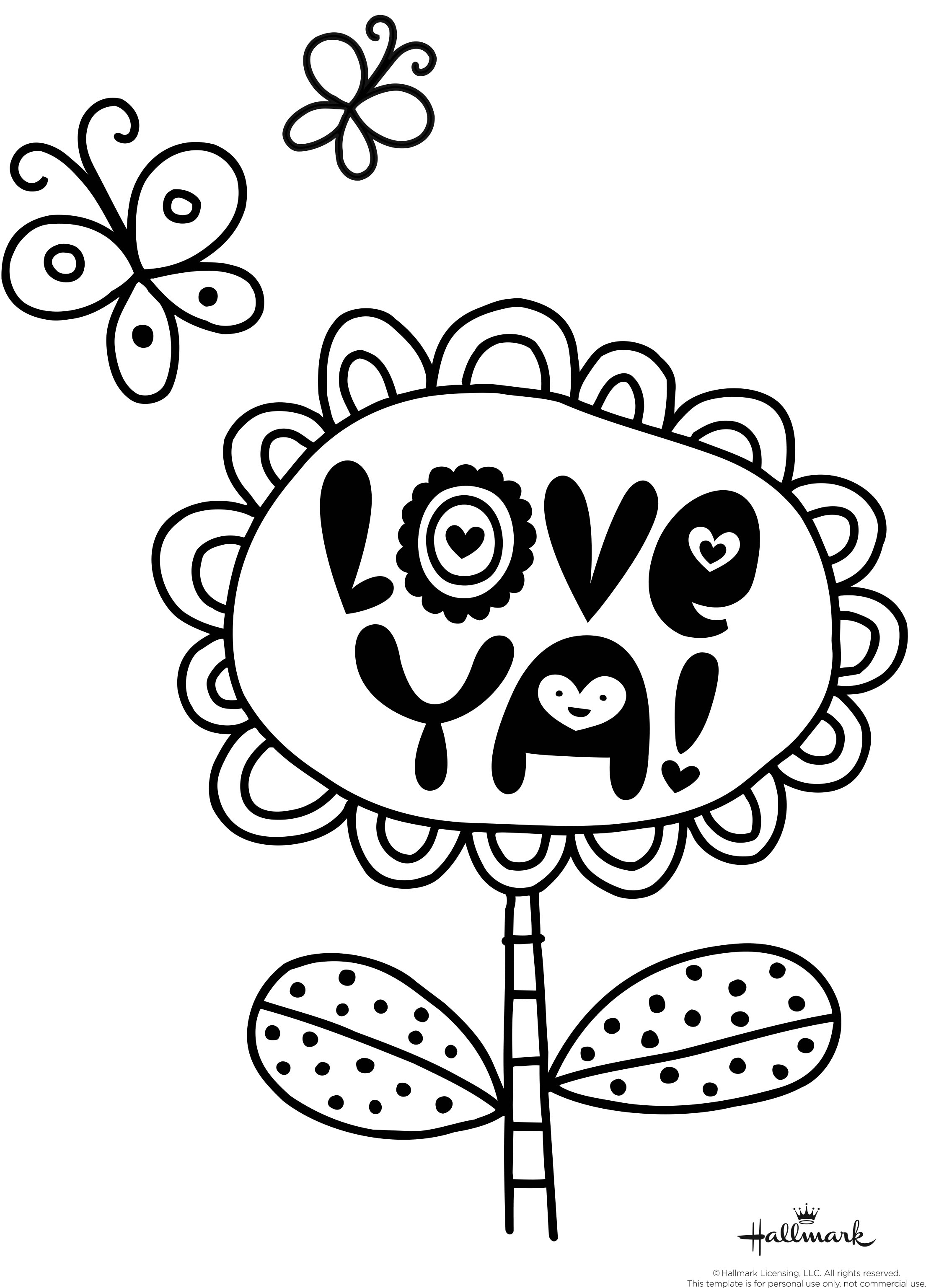 Valentines Day Hearts Coloring Pages Valentines Coloring Pages Happiness Is Homemade