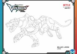 Voltron Coloring Pages Free Voltron Legendary Defender