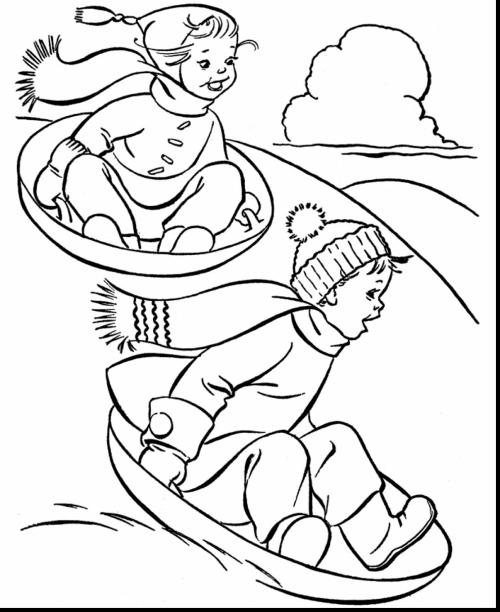 Winter Coloring Pages Printable Coloring Book World Awesome Winter Coloring Pages For Kidsl Free