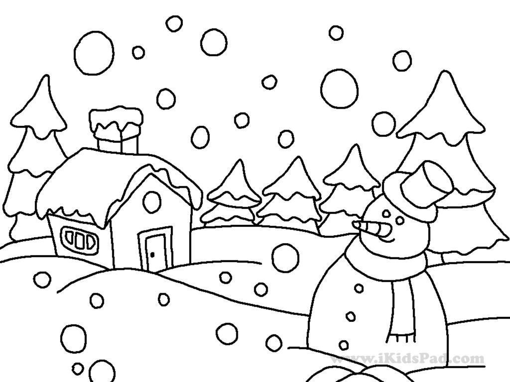 Winter Coloring Pages Printable Coloring Coloring Pages Winter Free Sheets Realnimal Printable For