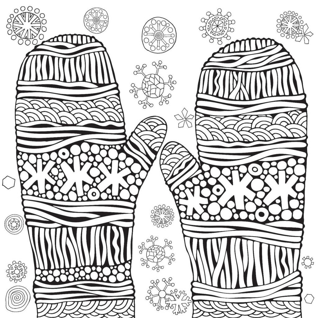 Winter Coloring Pages Printable Coloring Page Winter Coloring Pages Printable Sheets Page Image