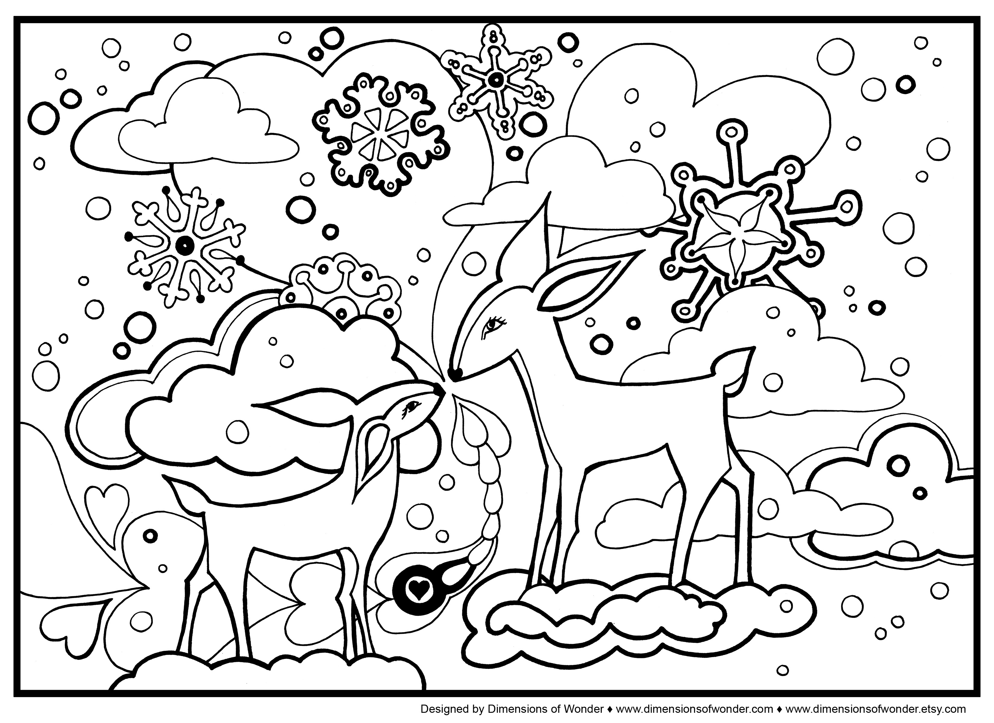 Winter Coloring Pages Printable Coloring Pages Free Winter Coloring Sheets Printable For Kids