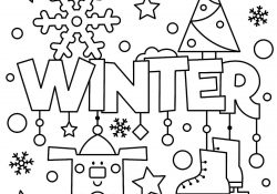 Winter Coloring Pages Printable Coloring Pages Free Winter Wallpaper For Desktoporing Sheets