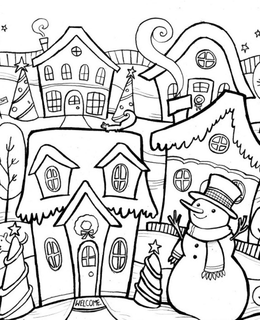 Winter Coloring Pages Printable Free Printable Winter Coloring Pages For Kids Printable Coloring