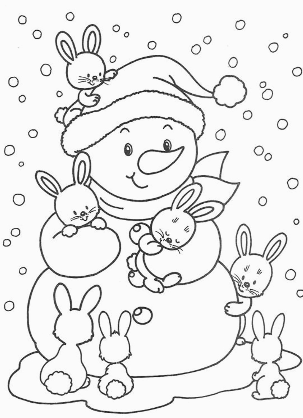 Winter Coloring Pages Printable Fun Winter Themed Coloring Pages Winter Coloring Pages For Winter