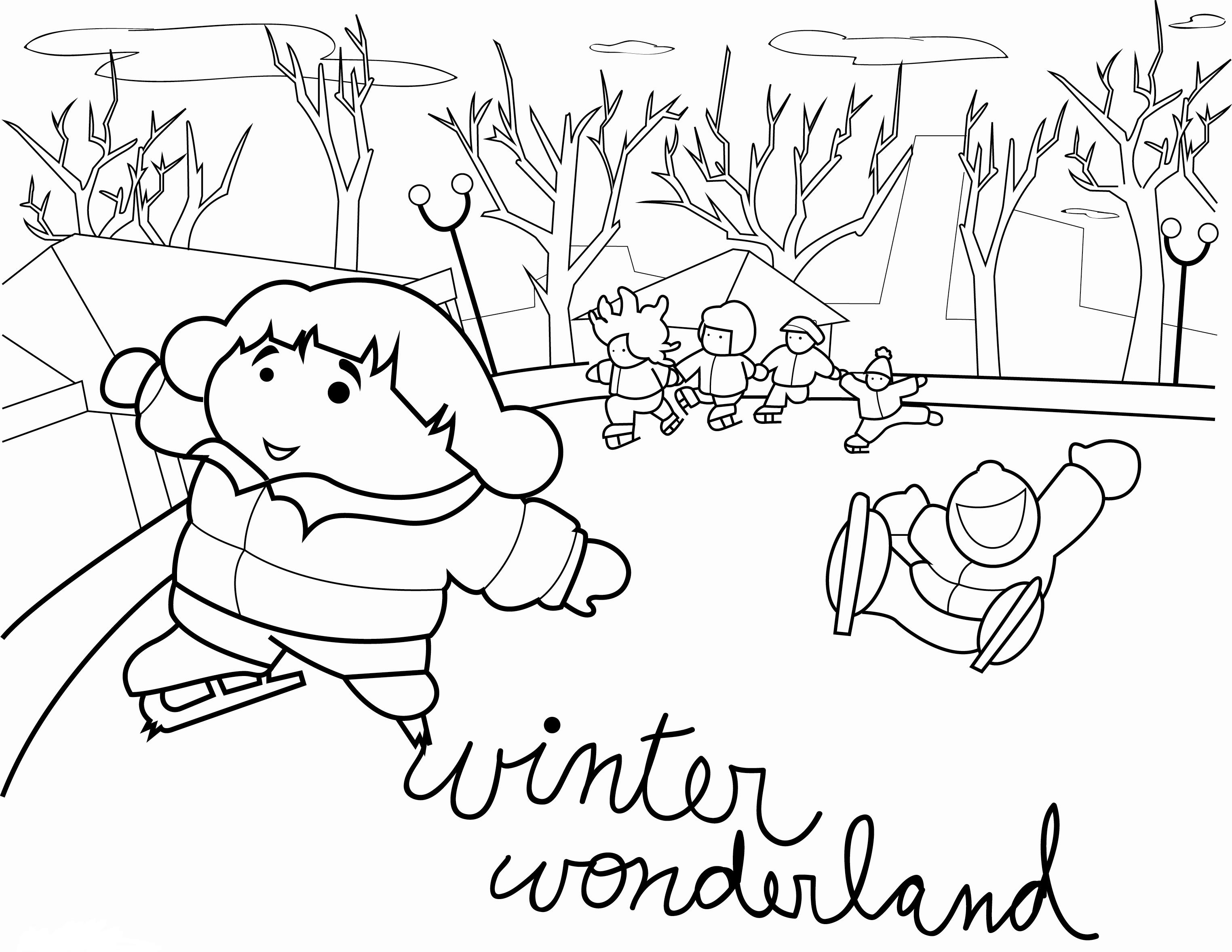 Winter Coloring Pages Printable Printable Winter Coloring Pages For Kids At Getdrawings Free