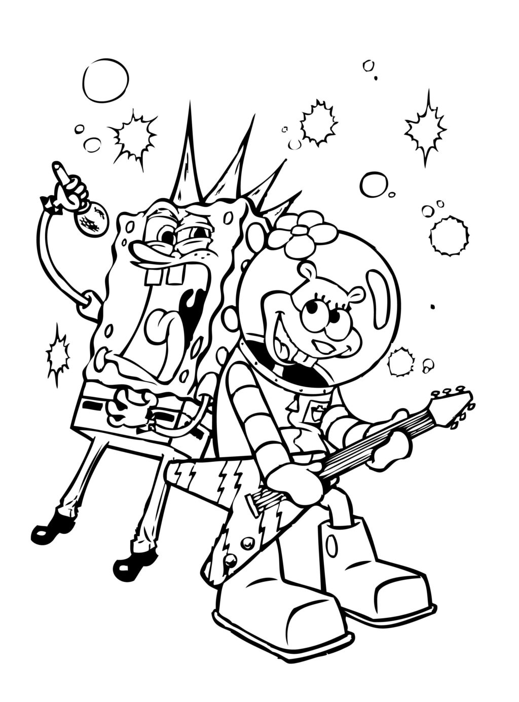 Word Search Coloring Pages Coloring Book World Phenomenal Spongebob Coloring Book Pages