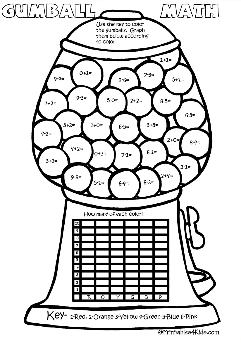Word Search Coloring Pages Coloring Gumball Math Color Numbers4kids Free Coloring Pages