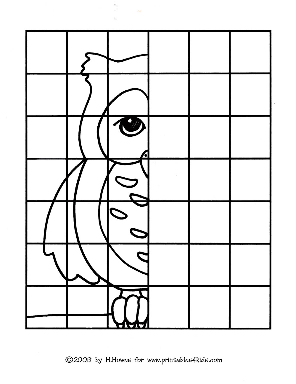 Word Search Coloring Pages To Print Owl Complete The Picture Drawing Printables For Kids Free Word