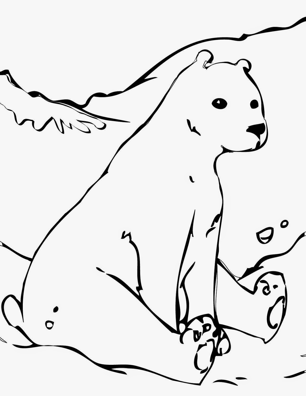 Yogi Bear Coloring Page Coloring Pages Bear Free Printable Coloring Pages And Clip Art
