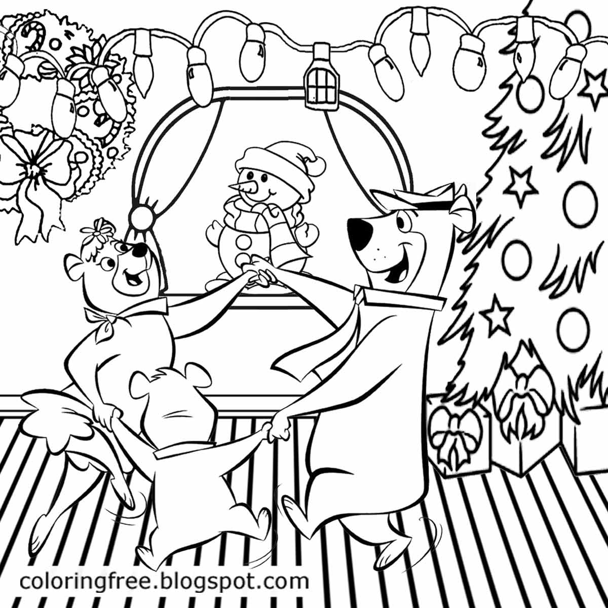 Yogi Bear Coloring Page Free Coloring Pages Printable Pictures To Color Kids Drawing Ideas