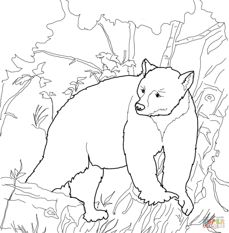 Yogi Bear Coloring Page Free Printable Bear Coloring Pages