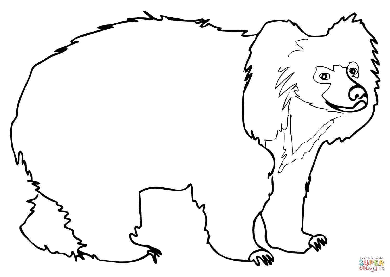 Yogi Bear Coloring Page Printable Bear Coloring Pages Tingameday
